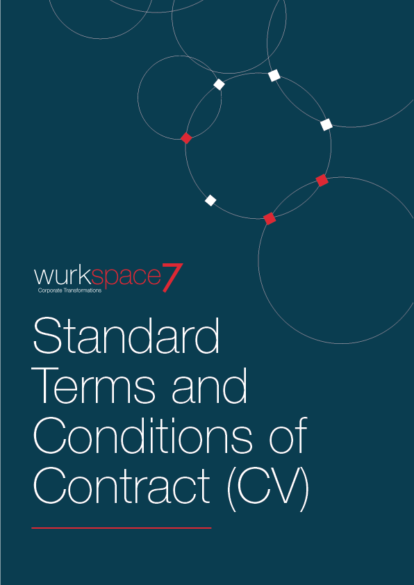 W7 Standard Terms and Conditions of Contract (CV) PDF Download